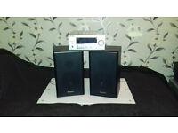 Technics Speakers+Sanyo Amp Reciver