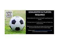 Goalkeeper Required Girls U16 Team - Cheslyn Hay WS6
