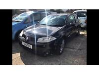 2006 06reg Renault Megane Sport 225 2.0 Turbo Black 3 Door