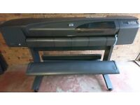 """HP DESIGNJET 800PS 42""""/A0 WITH STAND C77780C-REFURBISHED PRINTER"""