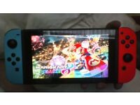 Nintendo Switch with 10 Games