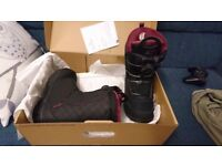 Salomon Pearl snowboard boots UK 3