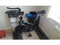 Flywheel exercise bike £40 ono collection only