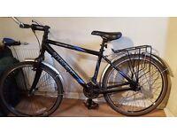"Trek 4500 Alpha 17.5"" Hybrid Bicycle Singlespeed Fixed Gear Commuter Bike"
