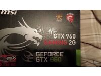 Graphics card GTX 960 GAMING 2G