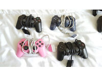 original 2x dual shock (PS2) + original 2x dual shock (PS1)