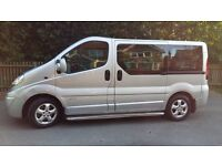 Minibus Hire with Driver 4, 8, 16 seats cheap rates