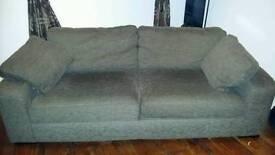 Brown Italian sofa