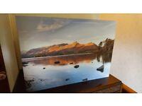 Lake District - Derwent Water Cat Bells in Autumn - Canvas Print