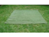 290cm x 250 cm astro turf ideal for small garden or ontop of decking
