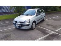 1.2 Petrol... Renaul Clio.... Full 12 Months M.O.T.... OLNY 66k on the Clock....