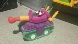 Imaginext Fisher Price 'Joker' Tank