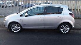2010 Vauxhall Corsa 1.2 i 16v SXi A/C 5dr, 1 Year MOT.