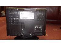 Luxor portable flat screen TV
