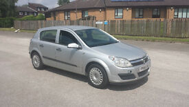VAUXHALL ASTRA 1.6 PETROL MANUAL 5 DOOR HATCHBACK 06 REG LONG MOT GOOD RUNNER CHEAPER PX WELCOME