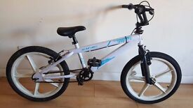Zinc BMX. 20 inch Mag Wheels, and Micro Crank. (Suit age: 8 yrs to 16 yrs).