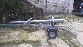 road trailer for topper dinghy or kayak or similar