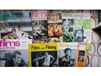 Job Lot 'Films & Filming ' magazines 1960-67