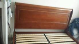 Superking Sleigh Bed