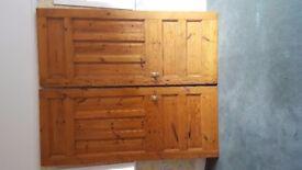 Large Oversize Vintage Victorian/Edwardian antique pine Interior Door's