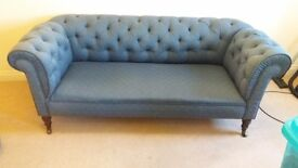Victorian 3 Seater Chesterfield Sofa