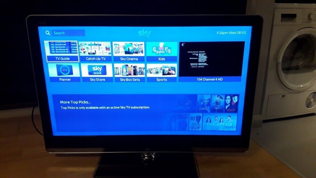 SHARP AQUOS 46 INCH FULL HD 1080p LED TV WITH DIGITAL FREEVIEW HD AND  REMOTE £130 DELIVERED | in Fulham, London | Gumtree