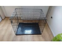 Dog crate good condition hardly used