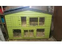 6ft by 2.5ft Rabbit Hutch