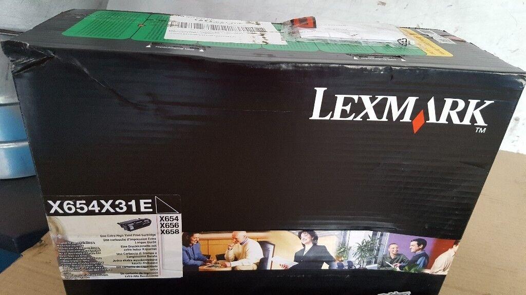 Lexmark X654X31E brand new toner.
