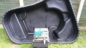 pond pump and fillter
