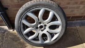 Dunlop SP Sport 01 Tyre - 205/45R17 - still about 5mm tread left