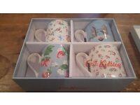 Cath Kidston gift set - 4 beautiful mugs