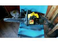Mcculloch mac cat chainsaw