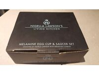 Nigella Lawson Egg Cup & Saucer Set x 2