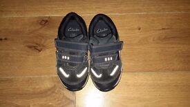 Boys Clarks shoes size 7 1/2 G