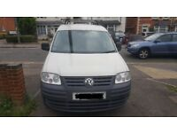 Vw caddy 1.9tdi c20 57-2007 low mileage