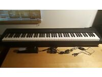Yamaha P95 Digital Piano, 88 Fully weighted keys + MIDI In-Out USB Cable for use with PC.