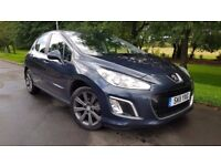 Peugeot 308 1.6 e-HDi Active 5dr (start/stop) 1 OWNER+NAV+BLUETOOTH