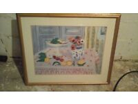 Framed large picture of Matisse Still Life