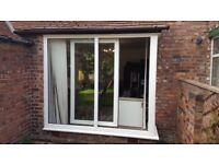 Tilt and Slide patio door and side window
