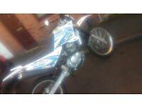 Sinnis blade 125cc road legal