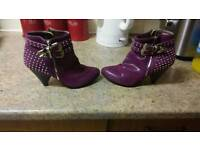 Ladies ankle boots size 4