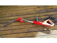 Telescopic, angle adjustment Electric Hedge Trimmer