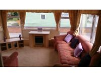 LUXURY 6 BERTH STATIC CARAVAN (*WITH BATH) ON 12MTH COUNTRY PARK, 2 MINS TO BEACH, SITE FEES PAID,
