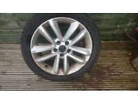 VAUXHALL 17 INCH ALLOY WHEELS 5 STUD