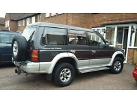 pajero/shogun low mileage 7 seater spares or repairs not a vw BMW or ford