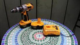 DeWALT XRP 18V NiMH DRILL with 2 batteries and charger