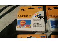 New and sealed Epson DE-ET0713 cartridges - D78, DX4000, DX4050, DX5000, DX5050, DX6000 and DX 7000F