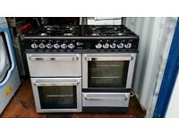 """Flavel Aspen 100' 8 Burners Dual Fuel Range Cooker - Good, clean condition / Free local delivery"