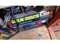 GENERATOR 6.5HP AS NEW